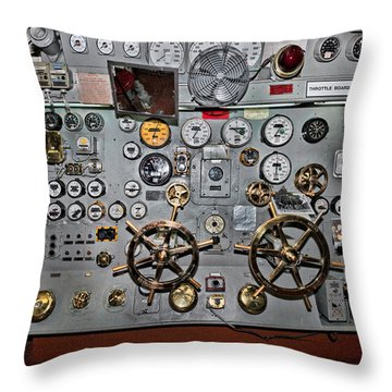 Full Steam Ahead Throw Pillow by Christopher Holmes