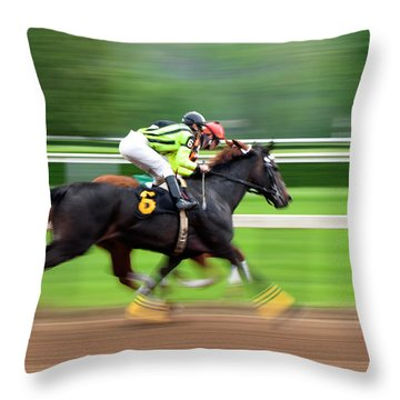 Full Stride Throw Pillow