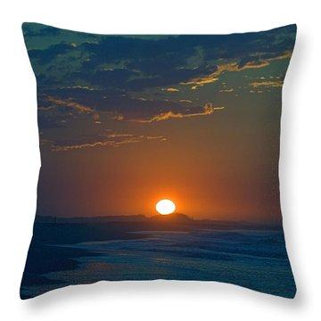 Full Sun Up Throw Pillow