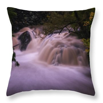 Full Whetstone II Throw Pillow by Tom Singleton