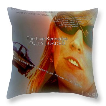 Fully Loaded  A Bogus Album Cover Throw Pillow