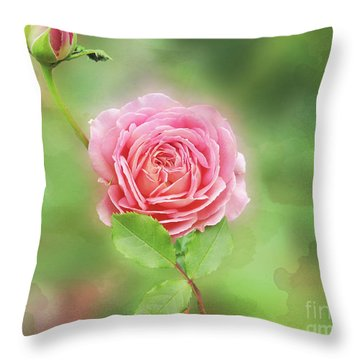Fully Open Throw Pillow