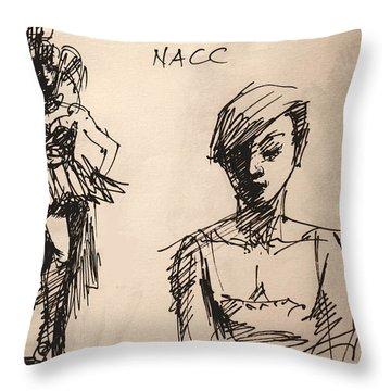 Fun At Art Of Fashion At Nacc 1 Throw Pillow