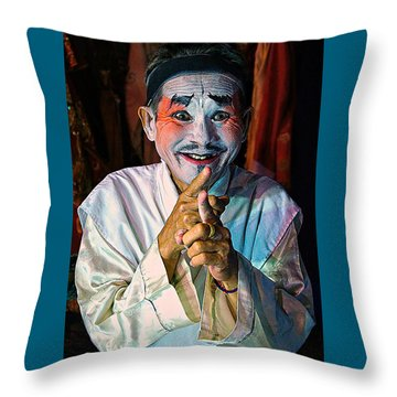Fun At The Opera Throw Pillow