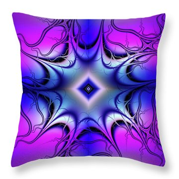 Fun Colors Throw Pillow