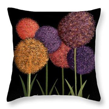Fun Colours Throw Pillow