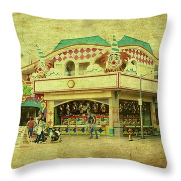 Fun House - Jersey Shore Throw Pillow