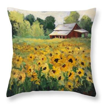 Fun In The Sun Throw Pillow