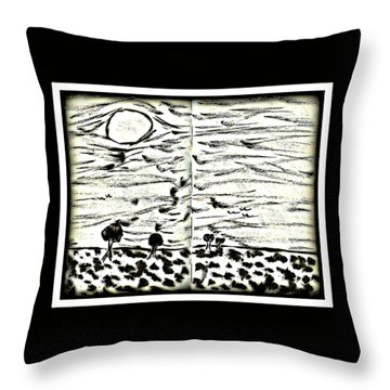 Fun In Trees 2 Throw Pillow