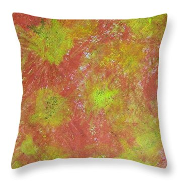 Fun On The Fourth Throw Pillow by Judith Redman