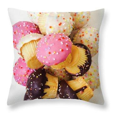 Fun Sweets Throw Pillow