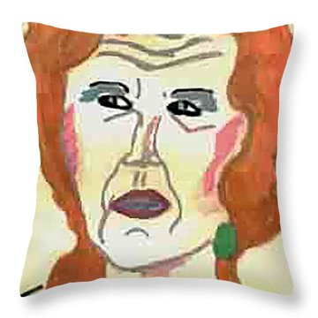 Functional Dysfuntion Throw Pillow