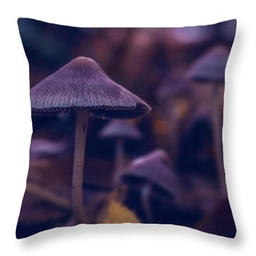 Fungi World Throw Pillow