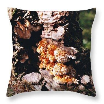 Fungus Is Beautiful Throw Pillow