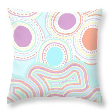 Funky Fun Throw Pillow