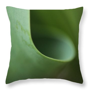 Funnel Vision Throw Pillow
