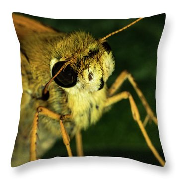 Fur Face Throw Pillow