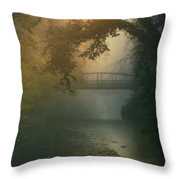 Furnace Run - Square Throw Pillow