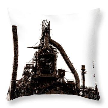 Furnacious Throw Pillow