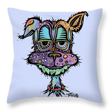 Furr-gus Throw Pillow by Tanielle Childers