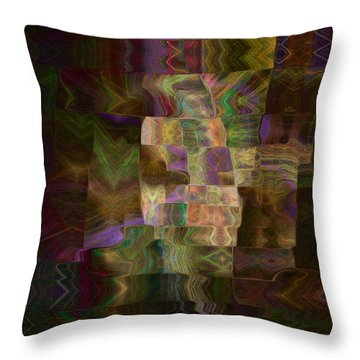 Furrows Throw Pillow