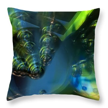 Furturistic Throw Pillow