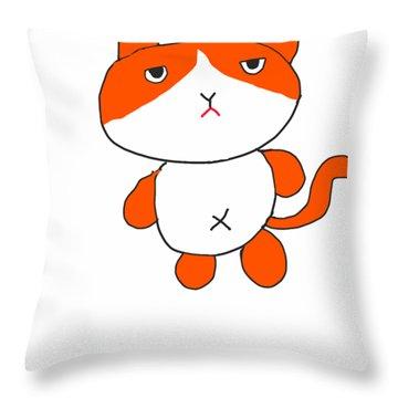 Futenyan Throw Pillow