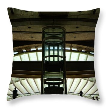 Throw Pillow featuring the photograph Futurama by Stefan Nielsen