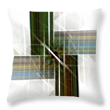 Future  Buildings Throw Pillow