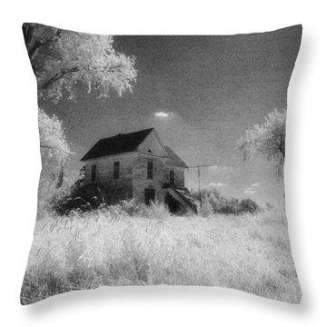Future Days Past Throw Pillow
