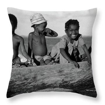 Future Sailors Throw Pillow