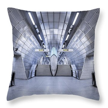 Futurism Throw Pillow