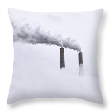 Futuristic Throw Pillow by Steven  Michael