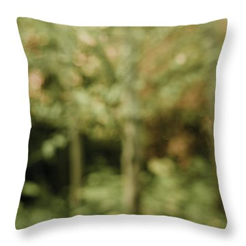 Fuzzy Vision Throw Pillow