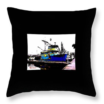 F V Sadi Marie Throw Pillow