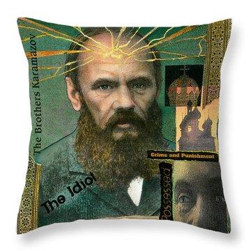 Fyodor Dostoevsky Throw Pillow