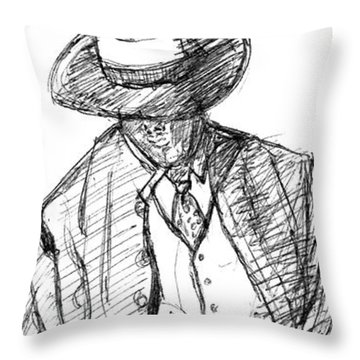 G-man Throw Pillow
