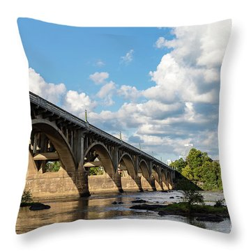 G S B-5 Throw Pillow