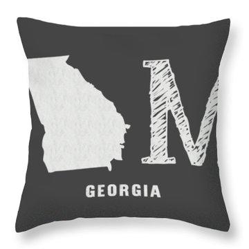 Ga Home Throw Pillow