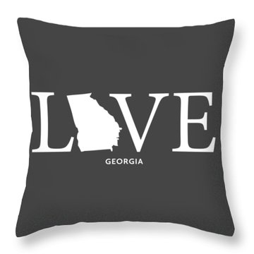 Ga Love Throw Pillow