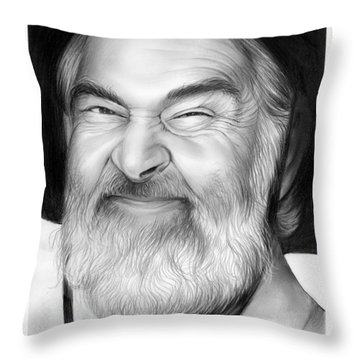 Gabby Hayes Throw Pillow