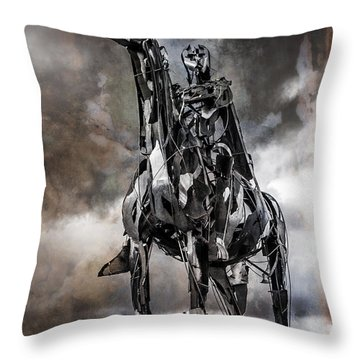 Gaelic Chieftain Throw Pillow