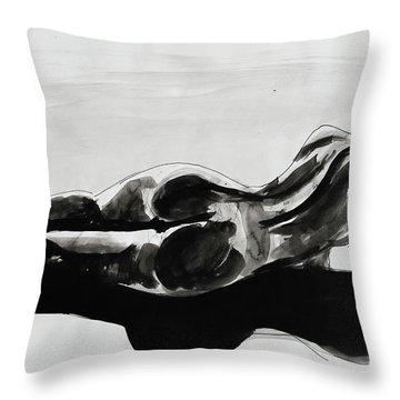 Gaia Consciousness Throw Pillow