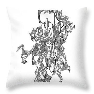 Gaia Throw Pillow