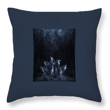 Gaia's Chorus Throw Pillow