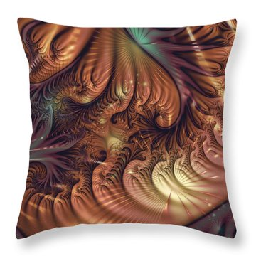 Gala Throw Pillow by Michelle H