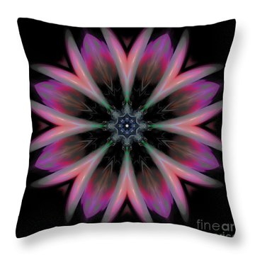 Galactic Boutonniere Throw Pillow