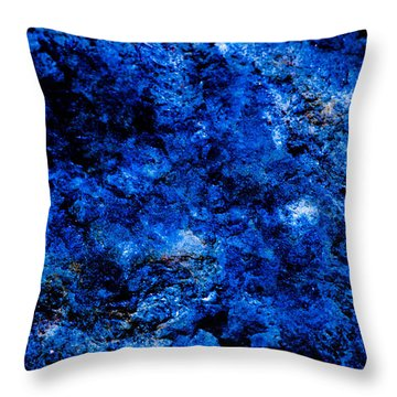 Galactic Night Abstract Throw Pillow by Bruce Pritchett