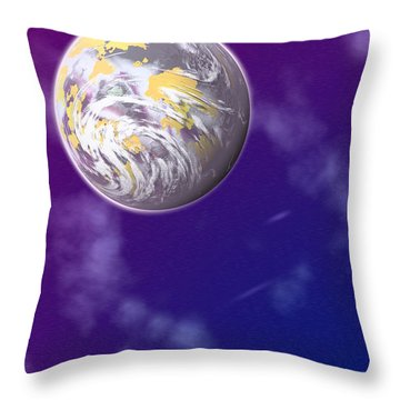 Galaxy 3 Throw Pillow by John Keaton