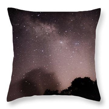 Galaxy Beams Me Throw Pillow